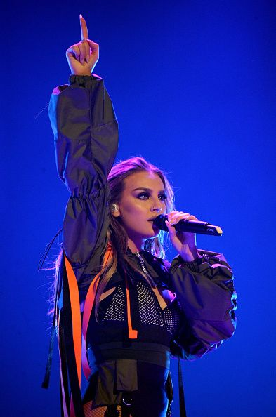 Little Mix performing at the Dangerous Woman Tour in Phoenix ~ February 3, 2017