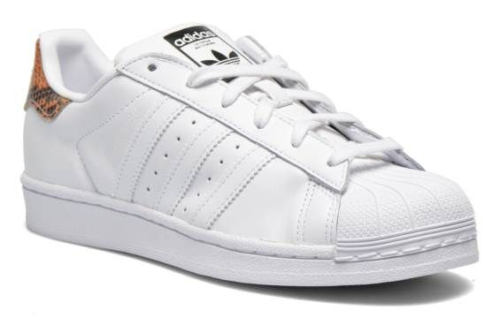Baskets Superstar W Adidas Originals vue 3/4
