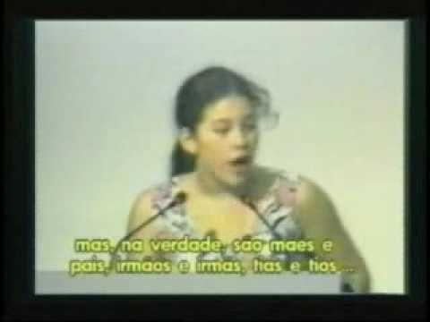 Severn Suzuki ~Environmentalist ~ Her speech was given in 1992, at the Earth Summit in Rio de Janeiro.