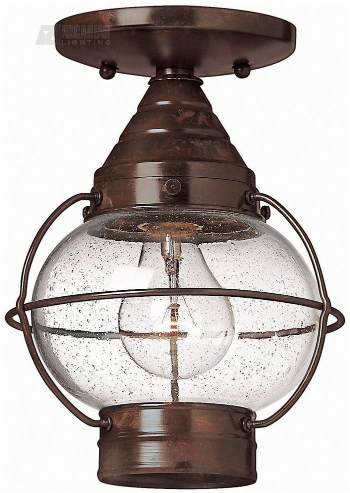 Cape Cod Transitional Outdoor Flush Mount Ceiling Light