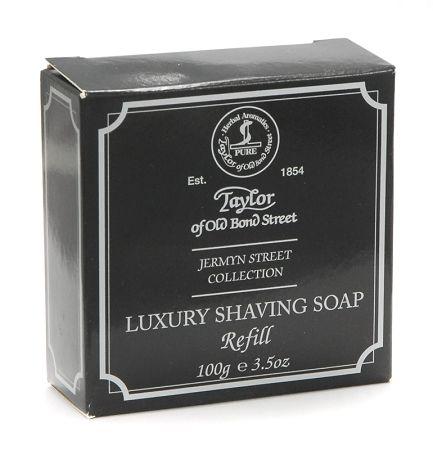 My favorite scent in a soap    Taylor of Old Bond Street Shaving Soap Refill, Jermyn St.