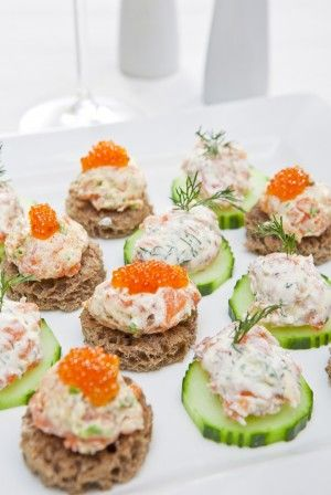 83 best images about my garden party on pinterest salmon for Cold canape ideas