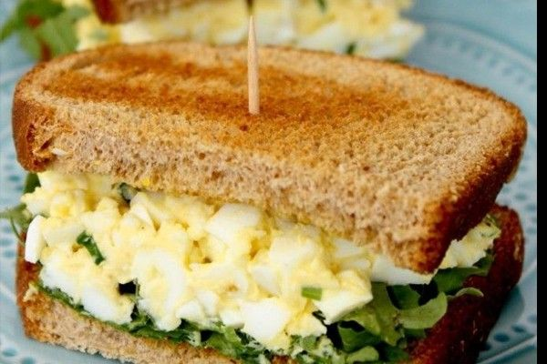 Egg Salad Sandwich -- Starbucks Style and DELICIOUS