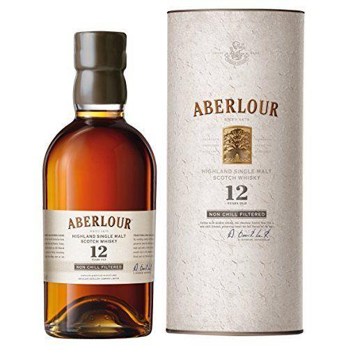 Aberlour 12 ans d'âge non filtré à froid Single Malt Whisky: Aberlour 12 ans d'âge non filtré à froid Single Malt Whisky