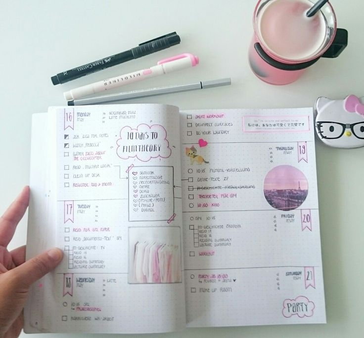 WEEK 13/14 | Created this week's setup in advance to gather an overview of my goals. I did a pink/blush colorsheme, because this color somehow relaxes my mind.❤ Hope you are all doing well in your pre-exam phase! Thanks for your support throughout...