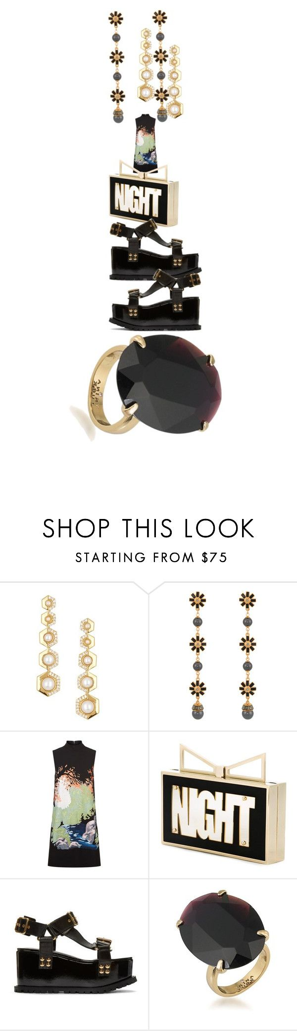"""Is it Tuesday Yet"" by ashlyn024 ❤ liked on Polyvore featuring Rachel Zoe, Henri Bendel, Victoria, Victoria Beckham, Sara Battaglia, Sacai and Trina Turk"