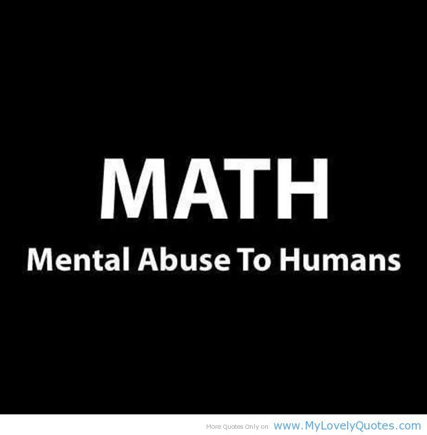 Math definition funny quotes