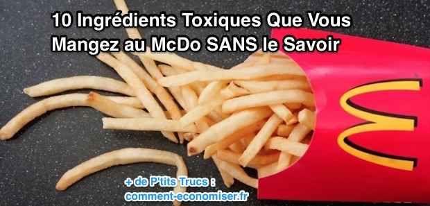 Il est grand temps de découvrir les ingrédients toxiques que vous mangez dans les préparations de McDonald's.  Découvrez l'astuce ici : http://www.comment-economiser.fr/mcdo-liste-ingredients-toxiques.html?utm_content=buffer9de57&utm_medium=social&utm_source=pinterest.com&utm_campaign=buffer