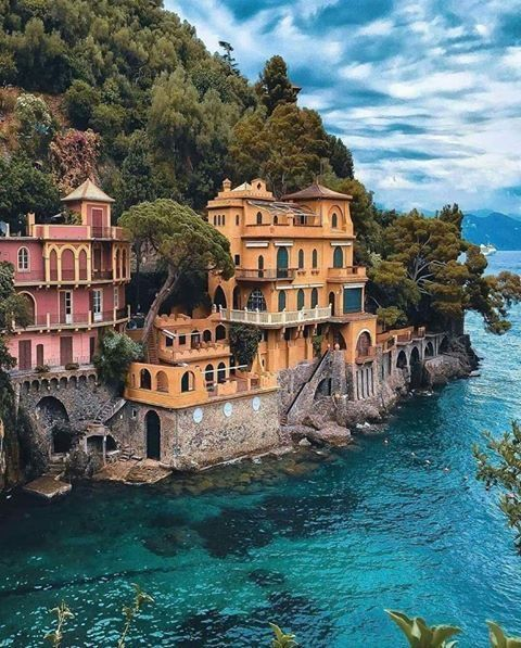 This is Portofino-Italy, a real paradise.