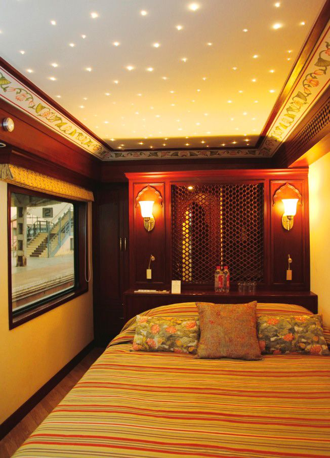 Ok, so this is actually a luxury train car in India.  However, the starry lighting in the ceiling is beautiful, can be added fairly easily, is the perfect thing for mood lighting- dinner parties, Christmas, girls' night out.  It can be dimmed, set to sparkle, etc.  In addition to your pendant lights or chandeliers, this could look breathtaking in a room.