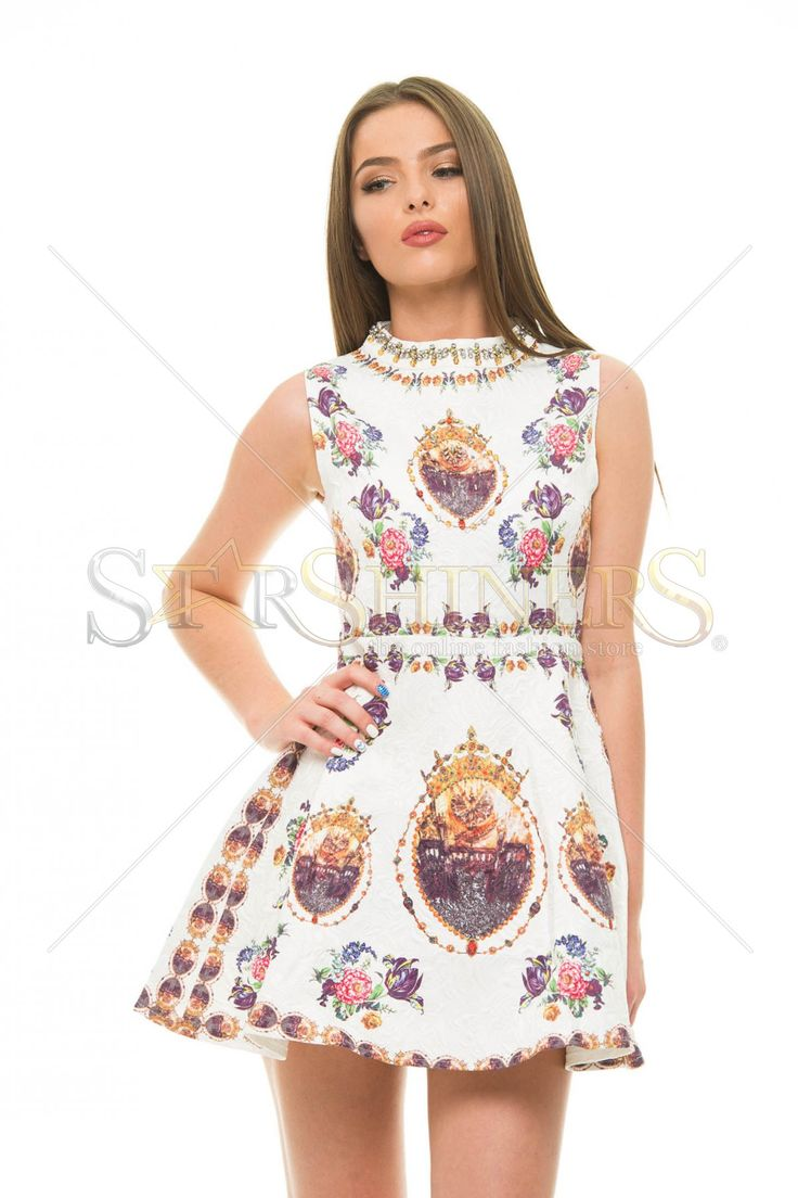 Exclusive Match White Dress