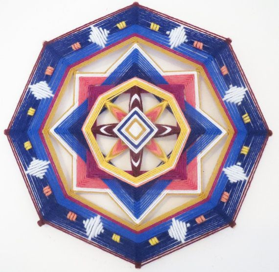 Colorful 'Ojo de Dios' Celebrate the Art of Handwoven Mandalas - My Modern Met