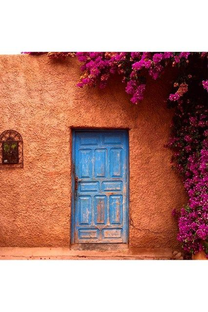 Morocco Door - See the most beautiful doors from all around the world courtesy of Door J'adore pics from their regular Instagram takeovers on the House & Garden account.