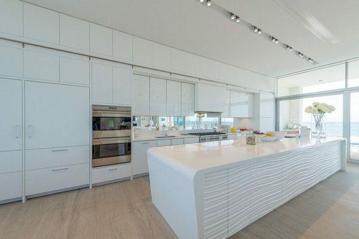 1001 Ideas De Decoracion De Cocinas Modernas Blancas