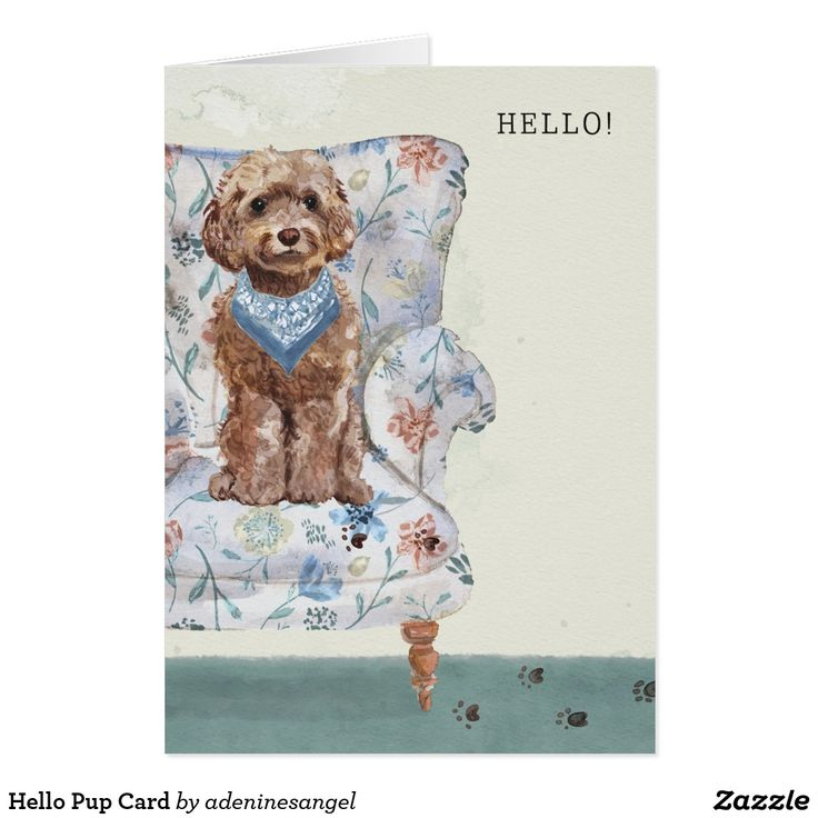 Hello Pup Card