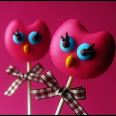 Owl Cake Pops {Tutorial}