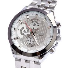 New Arrival LONGBO Brand Men's Watches Japan Quartz Watch Fashion Casual Watch Male Silver Band Wristwatches(China (Mainland))