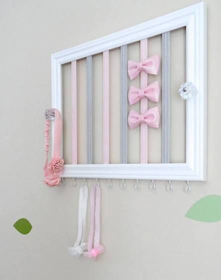 baby bows storage