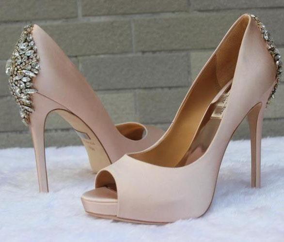 2016 Nude/White/Navy Wedding Shoes Heels Silk Bridal Shoes For Wedding Prom Shoes Evening Shoes Party Shoes Bridal Shoes Cheap Bridal Shoes Lace From Gonewithwind, $201.01| Dhgate.Com