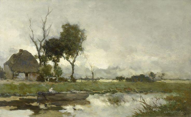 Hendrik Johannes Weissenbruch - Herfstlandschap