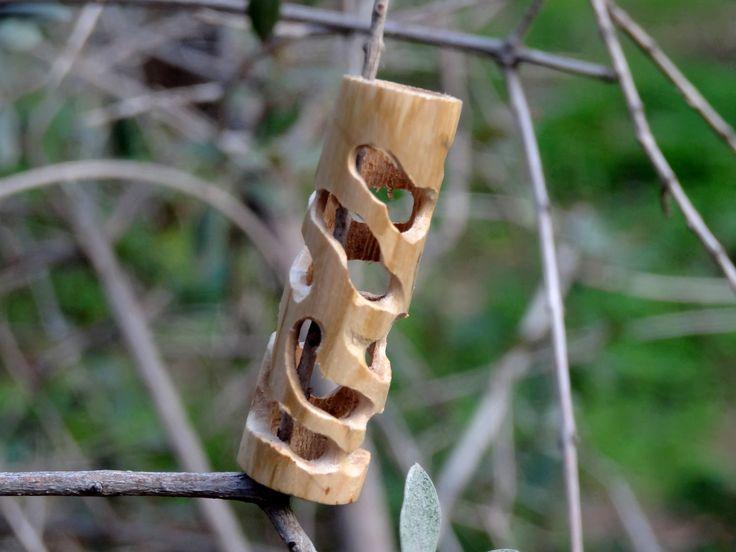 """Path of the Bark Beetle""  Hand crafted dread bead  #dreadlocks #dreadaccessories #dreads"