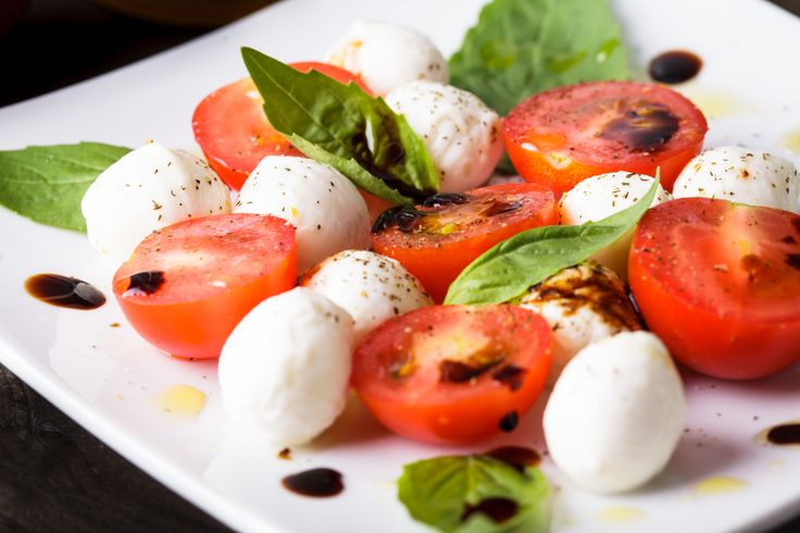 """Man is what he eats"" Ludwig Feuerbach #tuttofood2017 #caprese #capresesalad"
