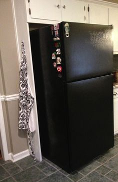 25 best ideas about paint refrigerator on pinterest for Chalkboard appliance paint