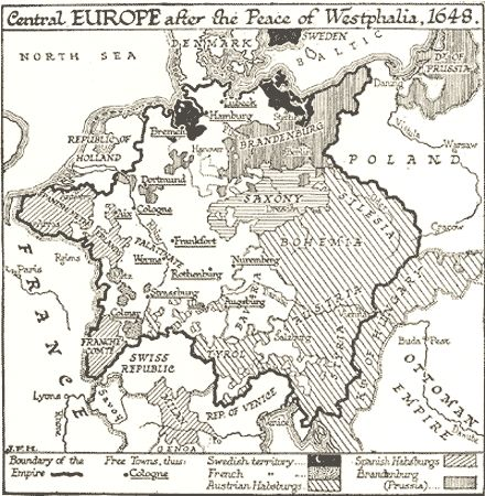 Best The Thirty Years War Images On Pinterest Thirty Years - Map germany thirty years war