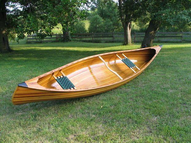 Building A Cedar Strip Canoe style #boatbuilding