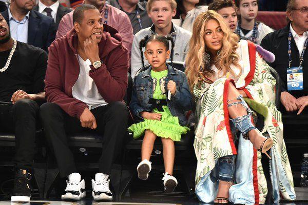 Photo ! La fille de Beyoncé est son portrait craché !