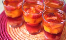 Fruit and Jelly Cups Recipe - with drained canned fruit if you're being really frugal! I'm going to make mine with diced two fruits