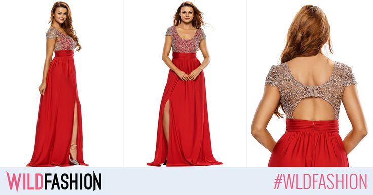 Saptamana viitoare este ultima si cea mai importanta petrecere din an, iar aceasta rochie este perfecta pentru tine! Ce zici?
