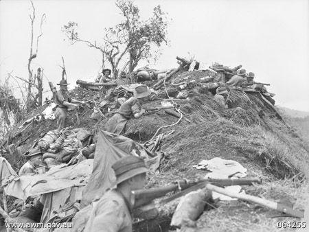 New Guinea 1943-1944, Australian Army