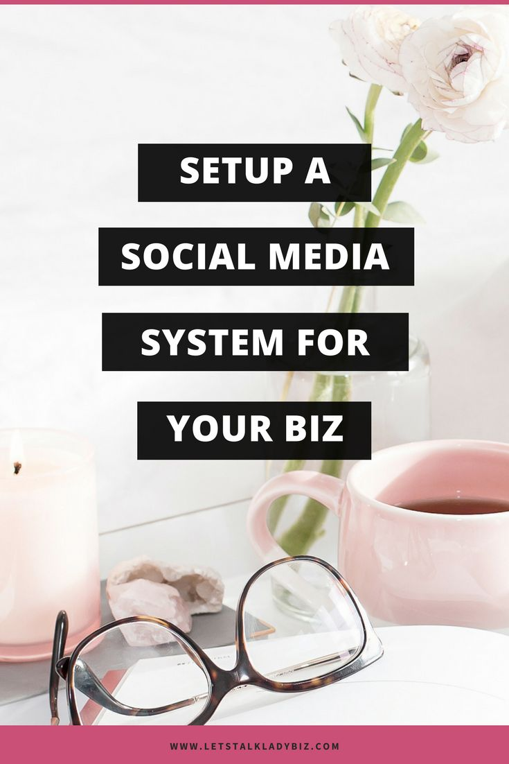 If you want to run your social media accounts effectively and not have to spend a ton of time doing it, set up a system. A social media system can hugely impact the amount of time it takes to post on your accounts. via @letstalkladybiz