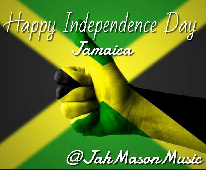 JAMAICA!!! Happy Independence Day!!! #ForeverJamaican .. #OneLove #JahMason #JahMasonMusic #NewCreationRecords #FyahMason #FyahMusic