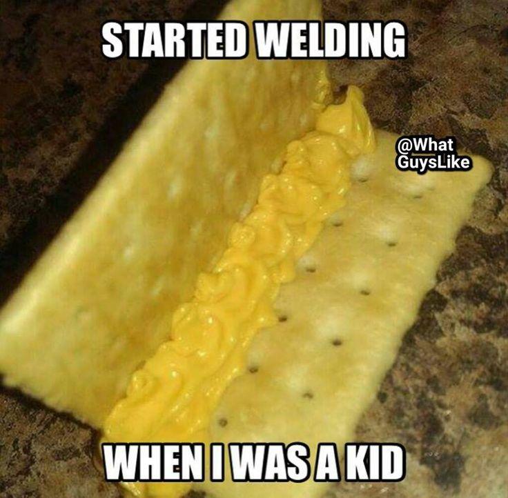 Starting welding