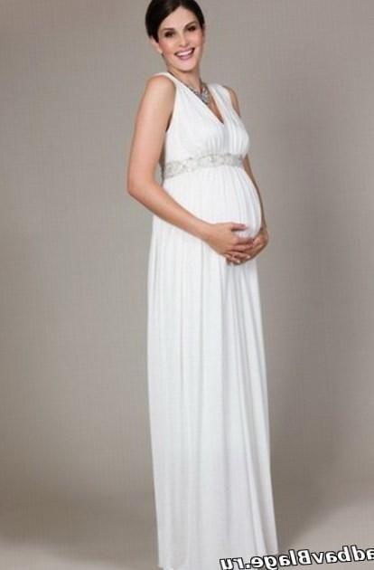 Греческие свадебные платья для беременных - http://1svadebnoeplate.ru/grecheskie-svadebnye-platja-dlja-beremennyh-2996/ #свадьба #платье #свадебноеплатье #торжество #невеста