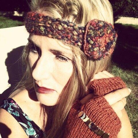 Headband et mitaines automne