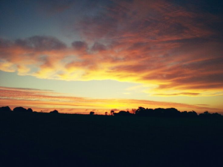 Sunset at Koroit