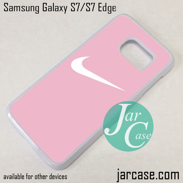Nike Smooth Pink Phone Case for Samsung Galaxy S7 & S7 Edge