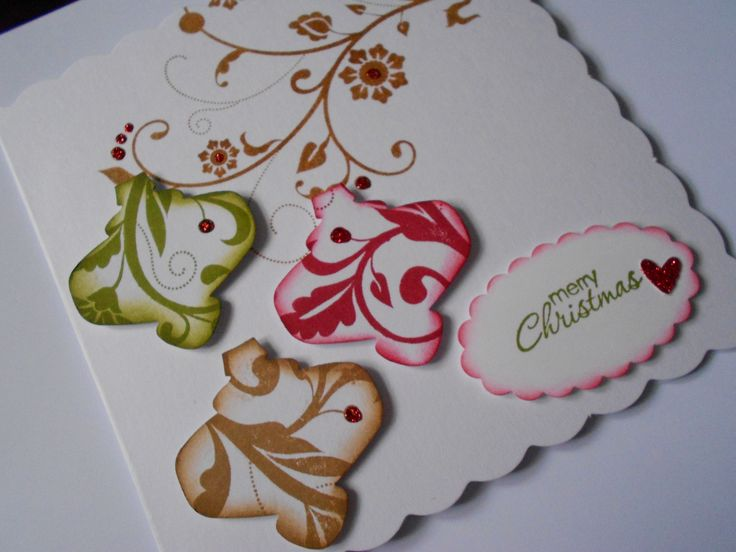 Stampin' Up! Flowering Flourishes and Christmas Ornament Punch