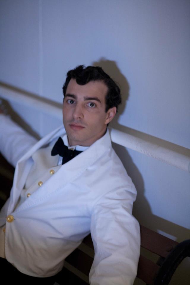 Italian man working as a crew member on the Titanic.