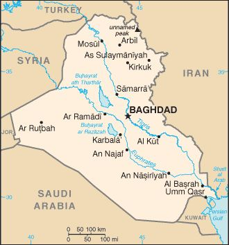 nice Baghdad Map Tourist Attractions