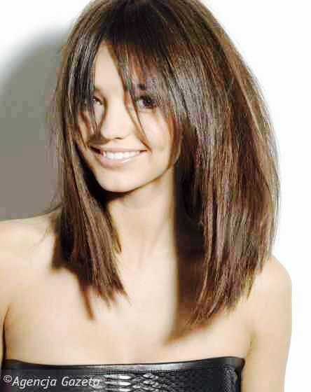 Love this long bob...I will need layers like this I've got Fine Hair ❤