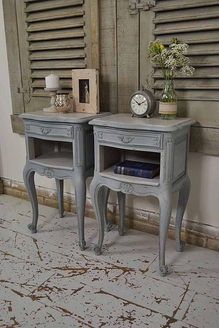 top 25+ best shabby chic bedside tables ideas on pinterest