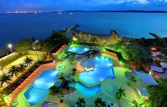 Pool hopping at the Hilton, Cartagena is a must.  http://bit.ly/1oxfYk8