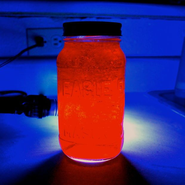 Glow in the Dark Jello. Notice that it says that it adds the taste of the quinine to the jello. I have not made this, but I think that adding some fruit to the jello might offset the quinine taste.