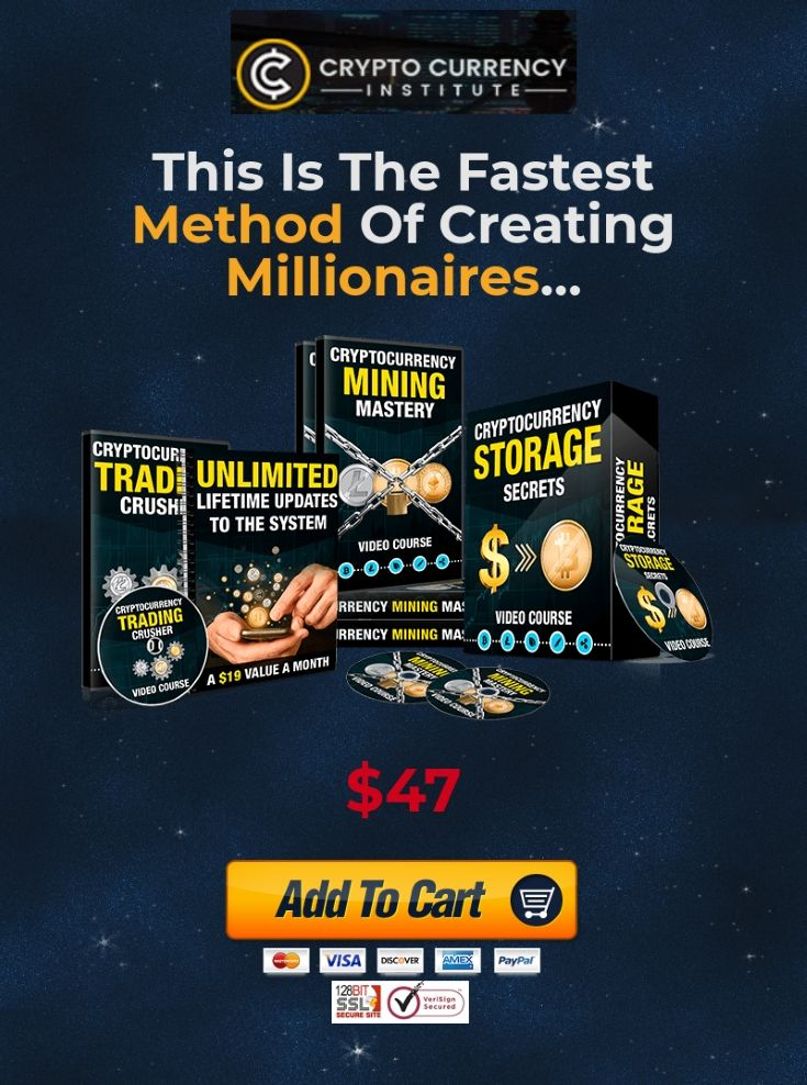 If you want to know what the fastest method of creating millionaires is right now, then let me give you a hint.  It's called Cryptocurrency and it's EXPLODING right now.