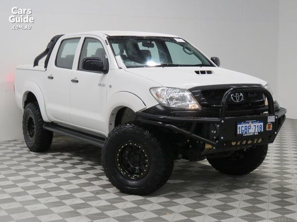 2011 TOYOTA HILUX SR (4X4) For Sale $33,991 Manual Ute / Tray | CarsGuide