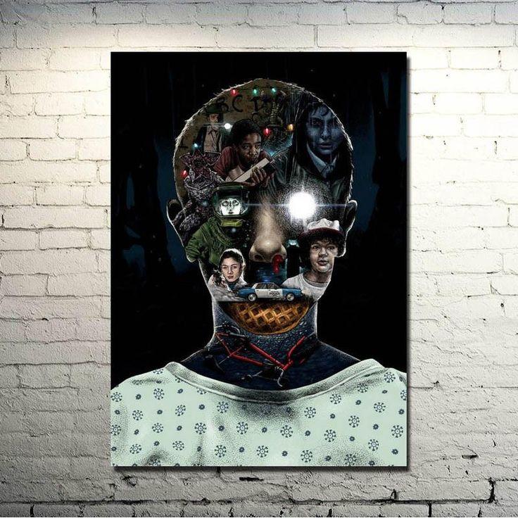 Stranger Things - Making Eleven Silk Poster